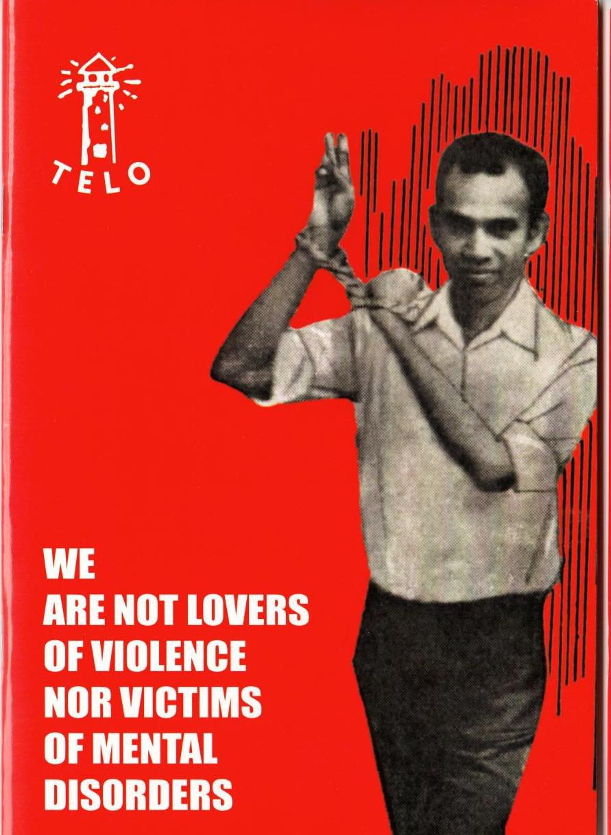 We are not lovers of violence nor victims of mental disorders